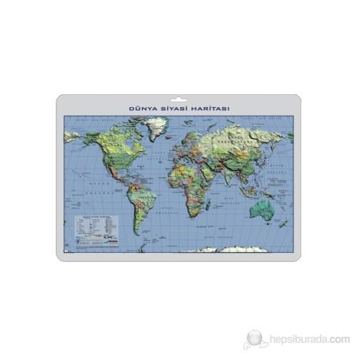 35X50 Dünya Siyasi Haritası