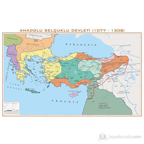 Anadolu Selçuklu İmparatorluğu Haritası