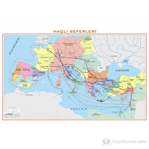 Haçlı Seferleri Haritası