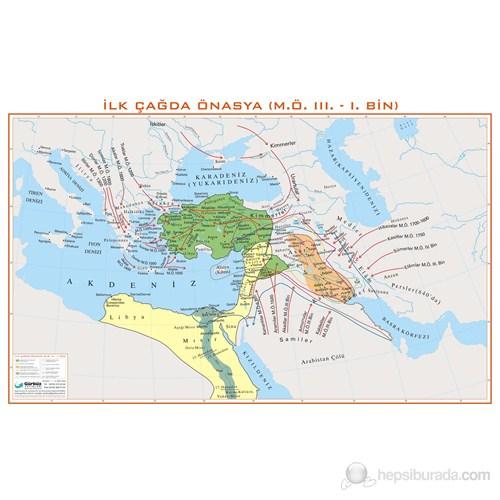 İlk Çağda Ön Asya Haritası