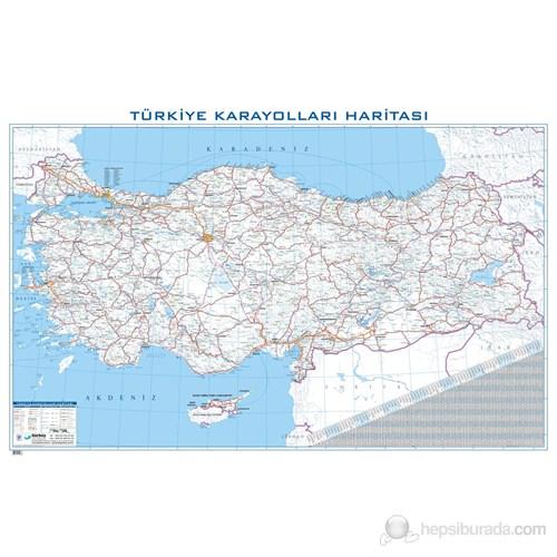 Türkiye Karayolları Haritası 70X100
