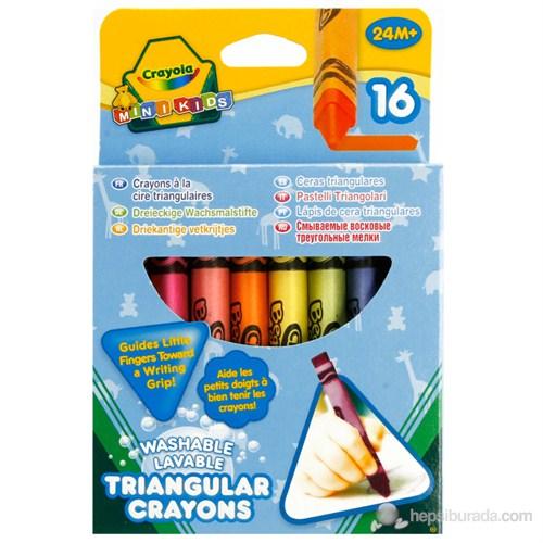 Crayola Üçgen Mum Boya