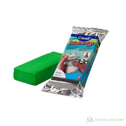 Creall Do&Dry 500 Gr. Modelleme Hamuru Yeşil