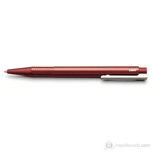 Lamy Logo Sedefki Kırmızı Plastik Gövde Tükenmez Kalem