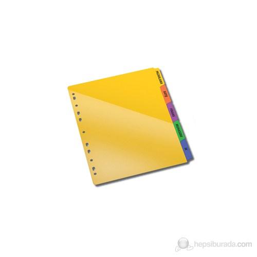 Serve Etiket Eklenebilen Çift Cepli Pp Ayraç,Hem Ayraç Hem İki Cepli Dosya Sv-6105