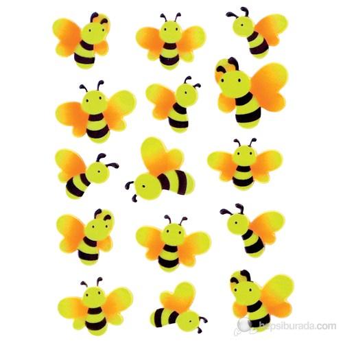 Herma Çocuk Etiketleri Fosforlu Arılar