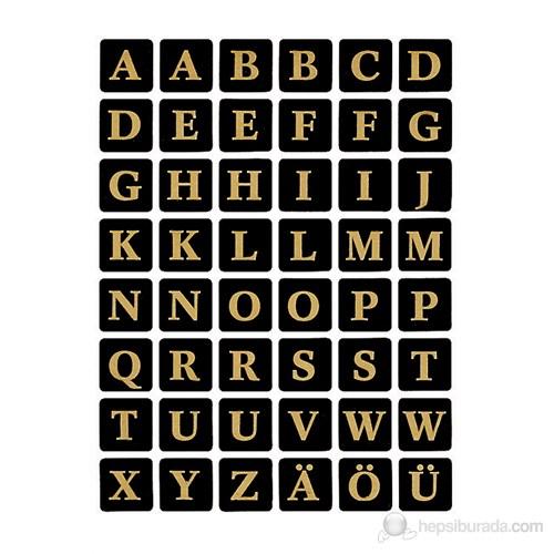 Herma Ofis Etiketleri Harf Ve Rakam A-Z Harf 13*13 4130