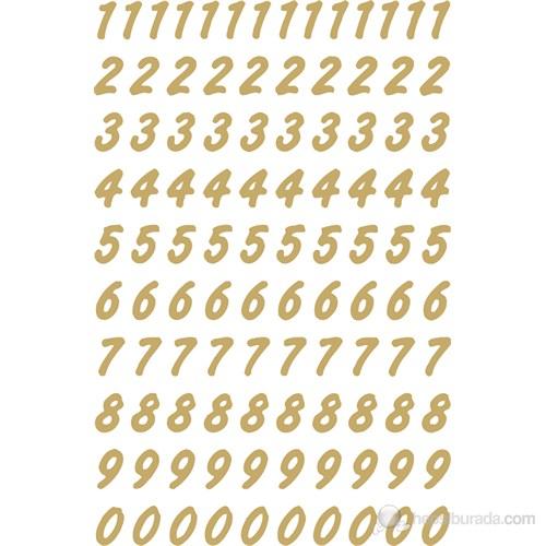 Herma Ofis Etiketleri Harf Ve Rakam 0-9 Sayı 8 Mm 4151