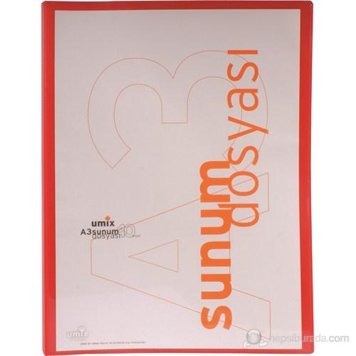 Umix Standart Sunum Dosyası A3 40'lı