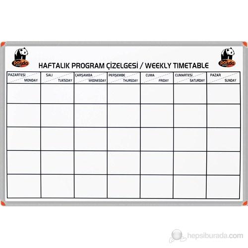 Panda 852 70X100 Haftalık Program Çizelgesi