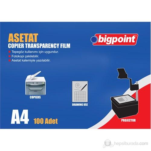 Bigpoint Fotokopi Asetati A4 100 Micron