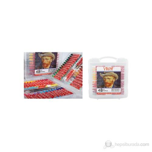 Vincent Yağlı Pastel 48'li Set