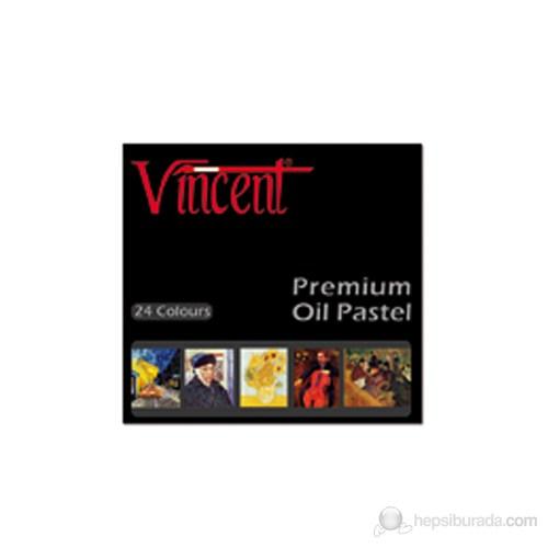 Vincent Yağlı Pastel 24'lü Premium Set