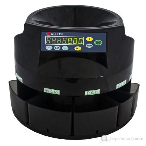 Mühlen - Münzen Bozuk / Madeni Para Sayma ve Ayrıştırma Makinesi TL