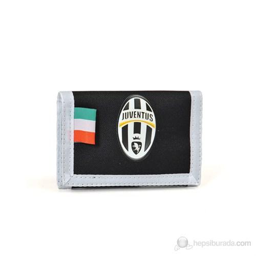 Juventus Okul Cüzdanı 13*9*1 cm (Siyah-Beyaz)
