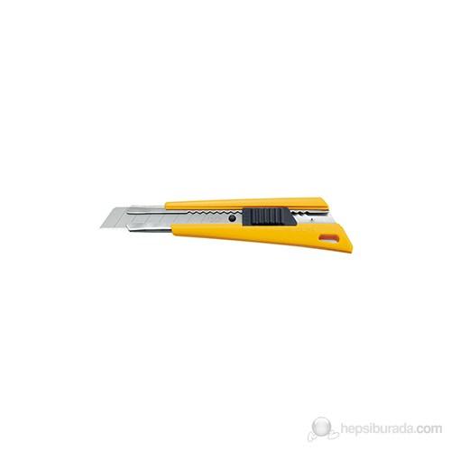 Olfa Geniş Maket Bıçağı (Gövde Arkasında Yer Alan Özel Kilit Sistemi) (Fl)