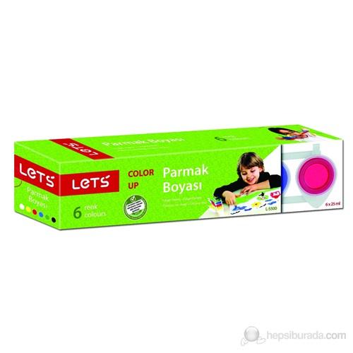 Lets Parmak Boyası 25Mg 6 Renk