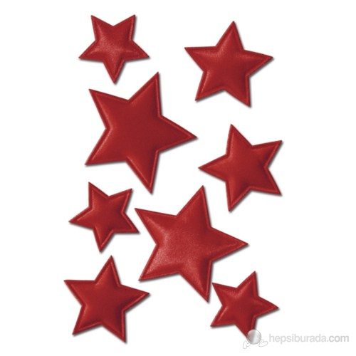 Herma Çocuk Etiketi Yıldızlar Kabartmalı
