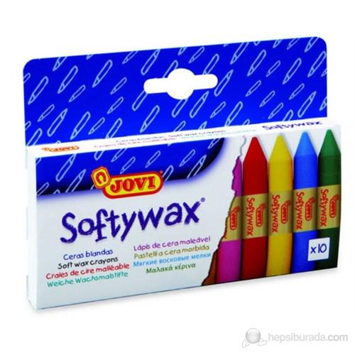 Jovi Softy Wax 10 Renk Yumuşak Pastel Boya