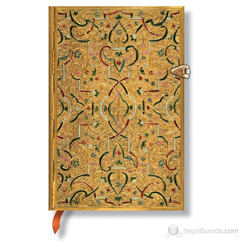 Paperblanks Gold inlay Mini 95 x 140mm. 2535-1