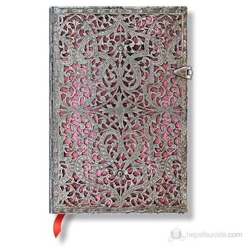 Paperblanks Blush Pink 240 sayfa Mini çizgili 95 x 140mm. 1931-2