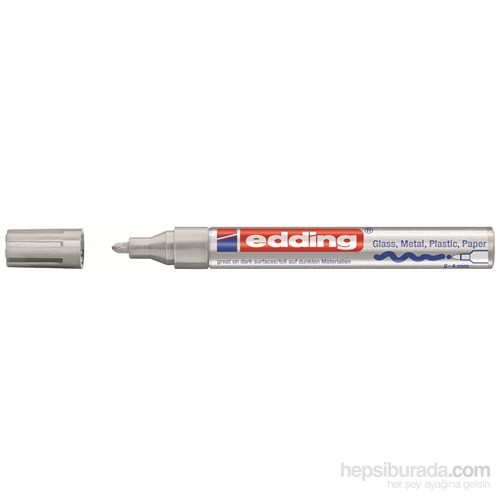Edding 750 Boyama Markörü (Gümüş) - ESKİ KOD