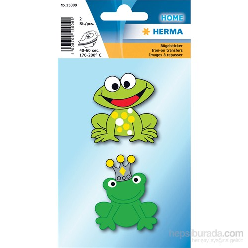 Herma Ütü Transfer Etiketi Kurbağalar 15009
