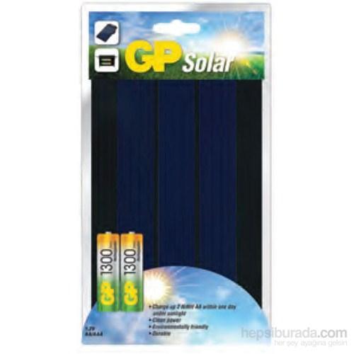 GP Solar Şarj Pil Şarj Cihazı GP1300 Pil Hediyeli