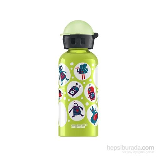Sigg Glo Monster Lime 0.4 L 6/P Matara