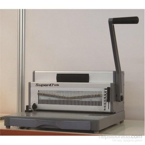 Sarff Super47 Plus Helezon Spiral Cilt Makinesi(4:1) 15302087