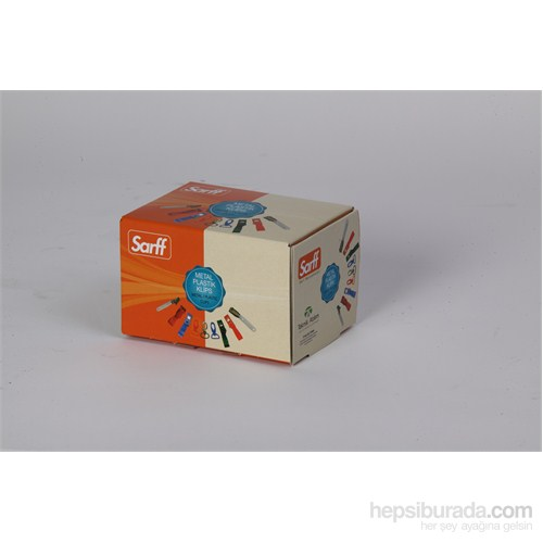 Sarff Plastik Maşalı Klips Siyah 100Ad. 15311016