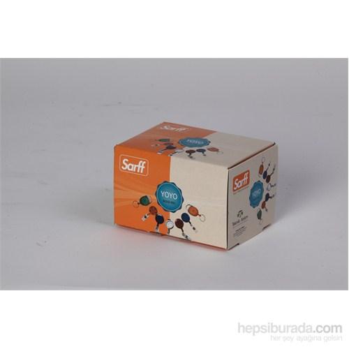 Sarff Anahtarlık Yoyo Şeffaf Kırmızı 25 Li 15311099