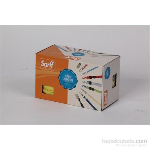 Sarff Metal Klips Kırmızı Kurdele 50 Ad. 15311203