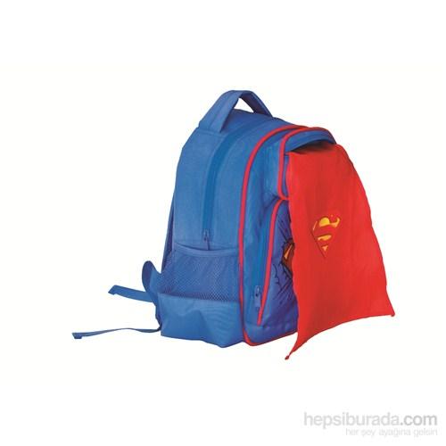 Trendix Superman Anaokulu Çantası Pelerinli U8320-SU