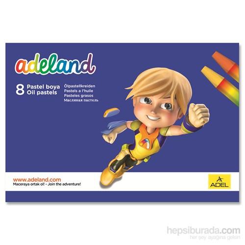 Adeland Pastel Boya 8 Renk