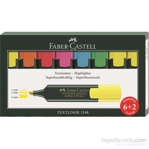 Faber-Castell Fosforlu Kalem 6+2 Takım (5030254863)