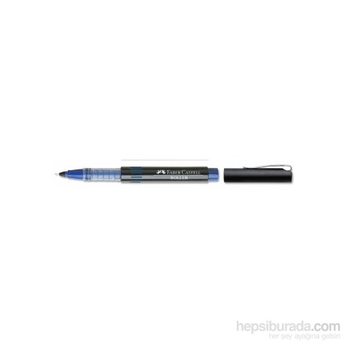 Faber-Castell İğne Uçlu Roller Mavi 10'lu (5020540551)