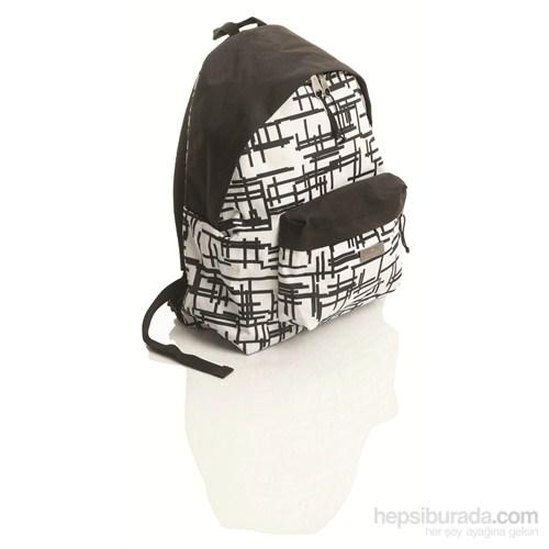 Faber-Castell Basic Çanta Style Çizgili Beyaz (5177190118)