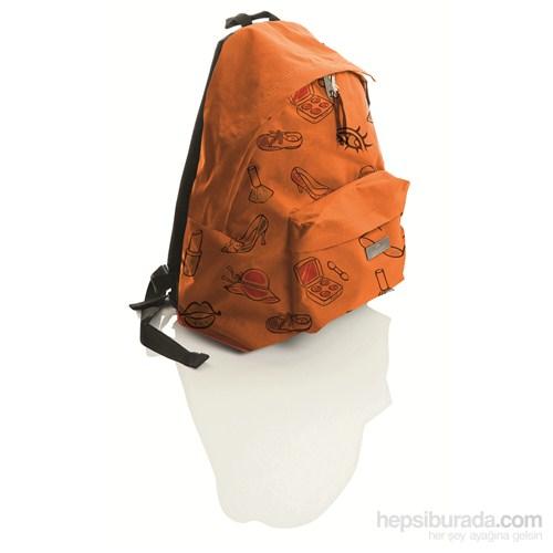 Faber-Castell Basic Sırt Çantası Desenli Feminen (5177190130)