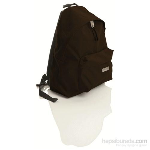 Faber-Castell Basic Sırt Çantası Düz Renk Kahverengi (5177190126)