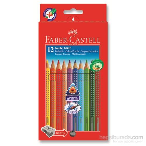 Faber-Castell Jumbo Grip Boya Kalemi 12 Renk (5170110912)