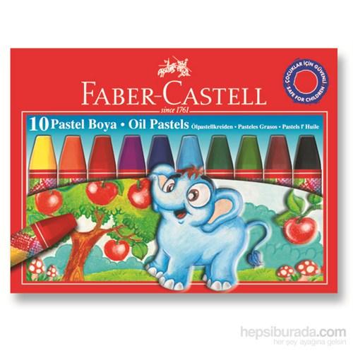 Faber-Castell Karton Kutu Pastel Boya, 10 Renk (5282125310)