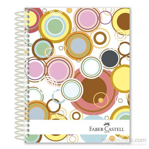 Faber-Castell Sert Kapak Sep.3+1+1 Daireler Defter 200 Yaprak (5075400501)