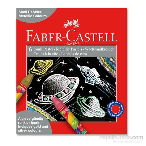 Faber-Castell Simli Pastel Boya 6 Renk (5281125406)
