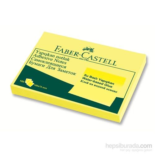 Faber-Castell Yapışkan Notluk 100x75mm Sarı (5089565701)