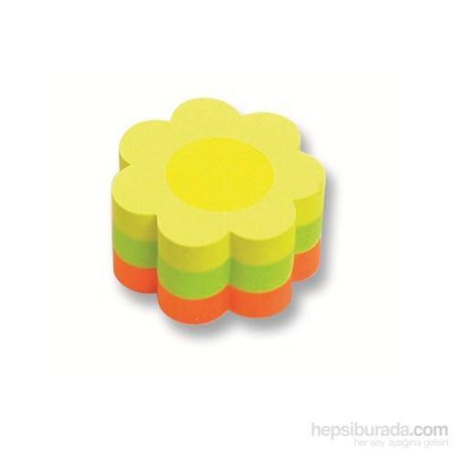 Faber-Castell Yapışkan Notluk 50x50mm Mini Çiçek (5089584239)