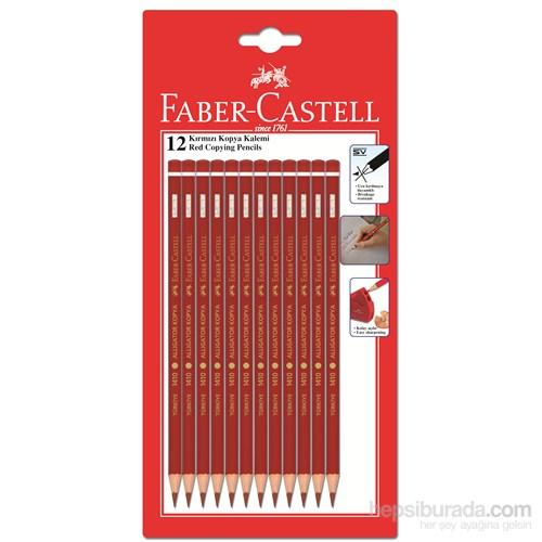 Faber-Castell 12 Kırmızı Kopya Boya Kalemi (1501410100)