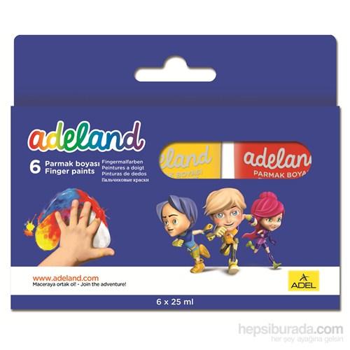Adeland Parmak Boyası 6 Renk 25 ml
