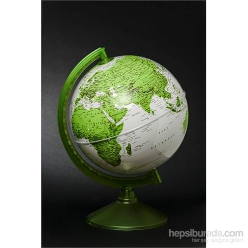 Gürbüz Dünya Küresi 26 cm (Yeşil)