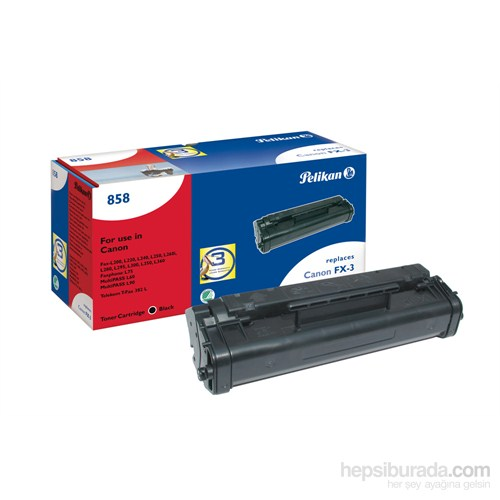 Pelikan Canon FX-3 Toner (619239) - Siyah